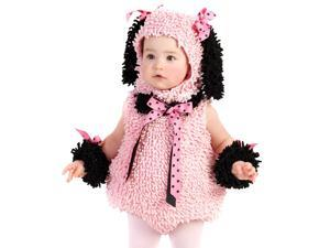 Baby Girls Pink Poodle Outfit Cute Infant Halloween Costume