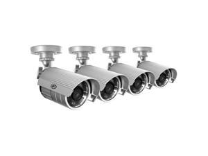 SVAT 4 Hi-Res Outdoor 75ft Night Vision Security Cameras - 11002