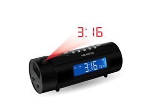 Magnasonic MAG-MM178K AM/FM Radio w/ Dual Alarm, Auto Time Set/Restore Temp Display & Battery Backup