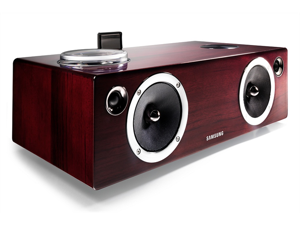 Samsung Vacuum-Tube and Digital Amp Wireless Audio System with Dual Dock DA-E750/ZA