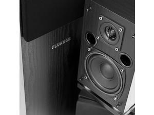 Fluance SX Series High Definition Surround Sound Home Theater 5.1 Channel Speaker System including Floorstanding Towers,