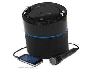 Electrohome EAKAR300 Karaoke CD+G Player Speaker System with MP3, Smartphone, Tablet, 2 Microphone Connections