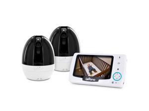"Levana Stella 4.3"" PTZ Digital Baby Video Monitor with Talk to Baby Intercom - 2 Camera Kit (32022)"