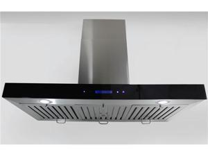 "New 36"" European Style Wall Mount Stainless Steel Range Hood Vent Touch Control 198KE-3-36"