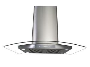 "36"" European Style Az668is3 Stainless Steel Island Mount Range Hood"