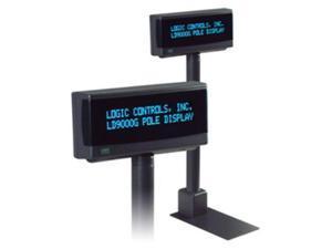 LOGIC CONTROLS LT9900U-GY TBL DPLY,DK GREY,USB,OPOSJPOS LCON CMND,9.5MM,2X20