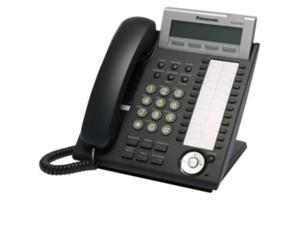 PANASONIC TELEPHONE KX-DT343-B (BLACK) 3 LINE LCD W/BACKLIGHT DXDP 12/60 CO KEY MODULE