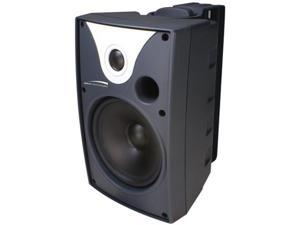 "SPECO TECHNOLOGIES SP6AWXT 6"" Outdoor Speaker Black w Transform"