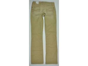 Aeropostale Juniors Solid Casual Corduroy Pants beigedarkst 1/2xR