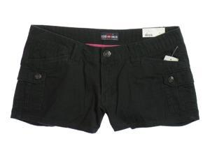 Ecko Unltd. Juniors Solid Casual Cargo Shorts black 0