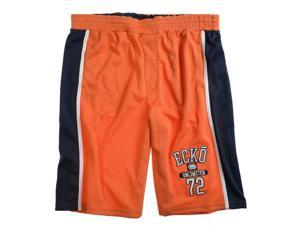 Ecko Unltd. Mens Local Boy Knit Athletic Walking Shorts orangepeel M