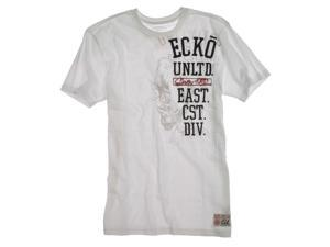 Ecko Unltd. Mens Vert Rhino Better Graphic T-Shirt blchwhite S
