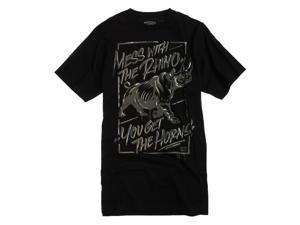 Ecko Unltd. Mens The Horns Graphic T-Shirt black XS