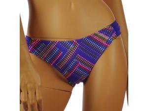 Aeropostale Womens geo-print swim bottoms - Pulse Purple - L