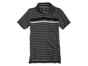 Ecko Unltd. Mens Striped Rugby Polo Shirt chrhtrgy XS
