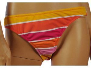 Aeropostale Womens striped low rider swim bottoms - Lollipop - L