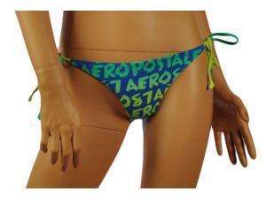 Aeropostale Womens AERO87 side-tie swim bottoms - Brt Med - XS