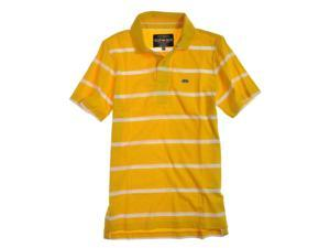 Ecko Unltd. Mens Clean Stripe Jersey Rugby Polo Shirt lemnchrome S