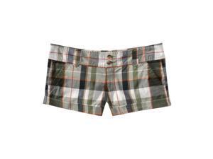 Aeropostale women's lightweight chino khaki shorts - Herb size 00
