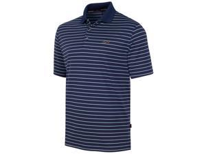 Greg Norman Mens 5 Iron Performance Rugby Polo Shirt nightsky S