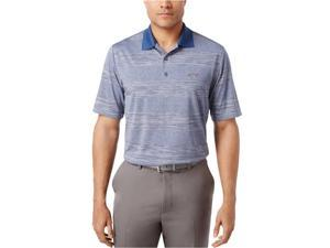 Greg Norman Mens Performance Golf Rugby Polo Shirt bluesocket XL