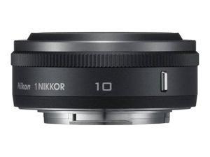 Nikon 1 Nikkor 10mm f/2.8 Lens for Mirrorless Camera System - Black NEW in Box