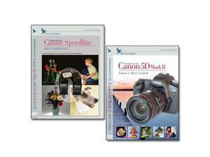 Blue Crane Digital Canon 5D Mark II DVD 2 Pack Volume 1 & 580/430 EX II Set