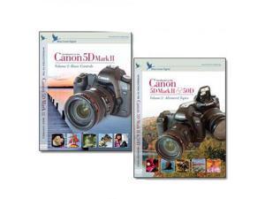 Blue Crane Digital Canon 5D Mark II DVD 2 Pack Volume 1 & 2 for Camera Body