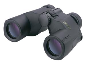 Pentax 8x40 PCF WP II Porro Prism Waterproof Binoculars, Matte Black with Lens C