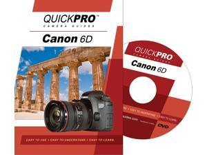 QuickPro Camera Training DVD for Canon 6D Instructional SLR Video Guide NEW