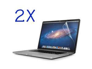 "GMYLE (TM) 2 packs Clear Transparent Screen Protector Flim for Retina MacBook Pro 13.3"" 13.3 inch"