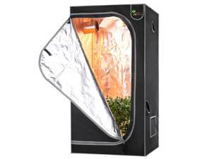 "Earth Worth 32""X32""X63"" Mylar Hydro Shanty Hydroponics Indoor Grow Tent"