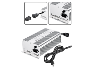 Earth Worth 600W Electronic Digital Ballast For HPS or MH 600 Watt Grow Bulbs