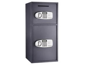 Paragon Lock & Safe Double Door Digital Depository Safe Cash Drop Safe Security