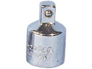 "K Tool 22050 Chrome Adapter, 1/2"" Female to 3/8"" Male"