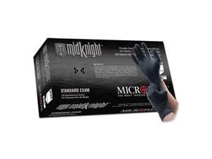 Microflex MK-296S MidKnight Black Nitrile Gloves - Small