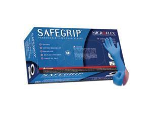 Microflex SG-375M SafeGrip Powder Free Latex Gloves - Medium