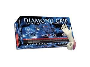 Microflex MF-300S Diamond Grip Powder Free Latex Gloves - Small