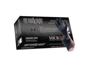 Microflex MK-296XL MidKnight Black Nitrile Gloves - X-Large