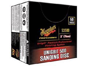 """Meguiars S3500 Unigrit 3"""" 500 Grit Sanding Disc"""