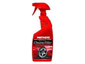Mothers 05824 Chrome Wire Wheel Cleaner 24 oz
