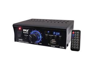 Pyle PCAU15A Mini 2 Channel Amp With USB