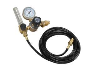 WELDING GAS REGULATOR 2-GAUGE CGA580 & 10' HOSE