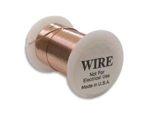 Tarnish Resistant Bright Copper Wire 22 Ga 20 Yd (18.2M