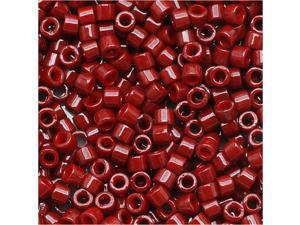 Miyuki Delica Seed Bead 11/0 Dyed Op Cranberry 654 7.2G