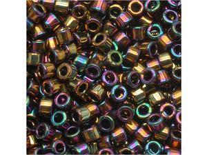 Delica 10/0 Seed Bead Metal Lt Bronze Iris Dbm0023 8 Gr