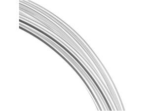 Silver Plated Copper German Bead Wire 16Ga -(3M/9.8 Ft)