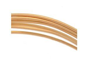 14K Gold Filled Wire 20 Gauge Round Half Hard 5 Ft