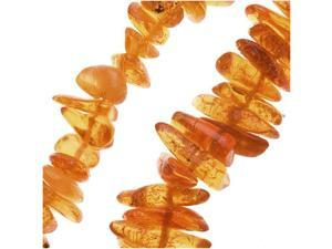 Baltic Amber Chips Beads 2-4 X 5-7mm /  24 Inch Strand