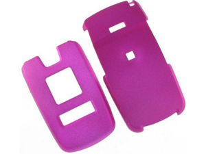 Rubberized Plastic Proguard Case Hot Pink For Samsung U550